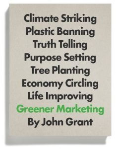 Book Cover - Greener Marketing