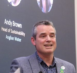 Andy Brown, Anglian Water