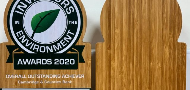 Bank wins Outstanding Achiever Award with green tech Case Study